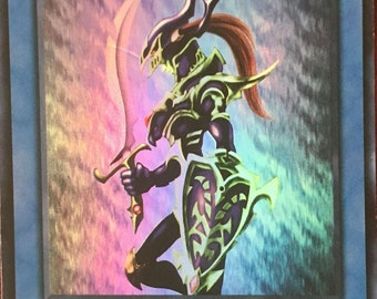 Yu-Gi-Oh Black Luster Soldier, foil rare (Including 1 dark magician)