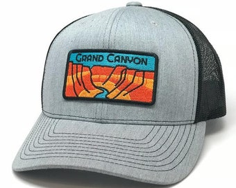 50c5bed23a80d Grand Canyon Curved Brim Trucker