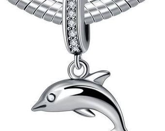 pandora charm delfino