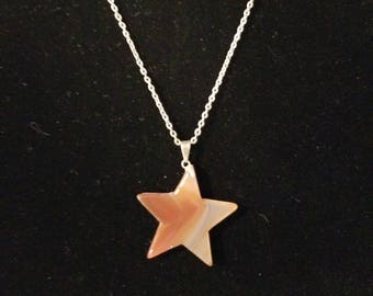 Texas Star Necklace