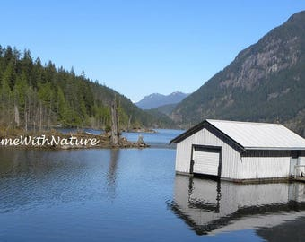 Downloadable Nature Image of Buntzen Lake Boathouse