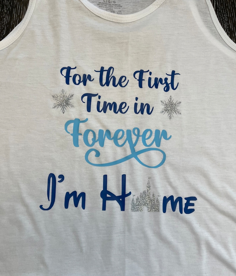 For the First Time in Forever Tank or Tee KID/'S SIZE