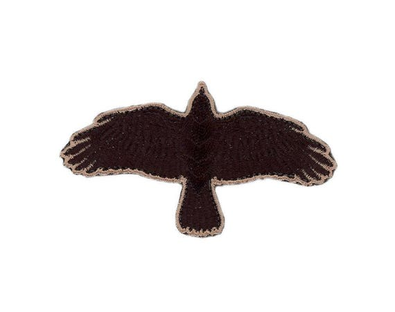 Raven In Odin We Trust Viking Valhalla VELCRO® BRAND Hook Fastener Patches