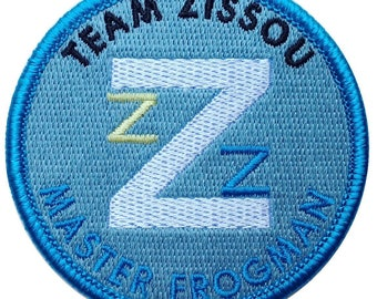 The Life Aquatic Frogman Iron-on Decorative Costume Accessory Patch