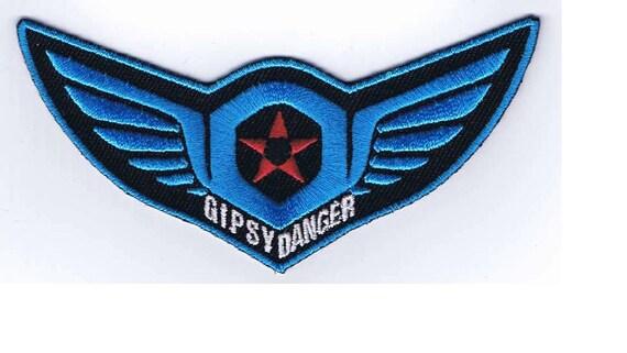 Pacific Rim Gipsy Avenger Logo vinyl sticker decal choose Color Size