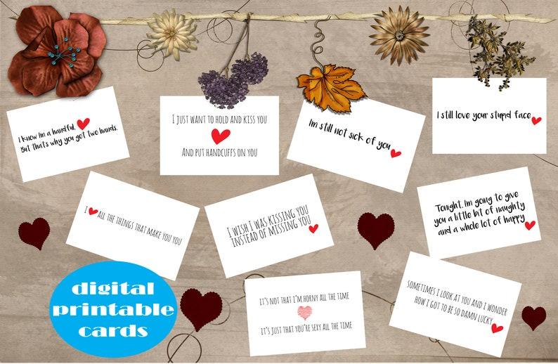 Mini Love Notes Sexy Love Notes Naughty Love Notes Love | Etsy