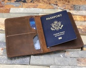 slim passport wallet with two slots, leather passport wallet, passport wallet,travel wallet,passport case,leather passport holder document