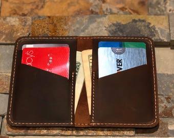 Wallet•Leather Wallet•Personalized Leather Wallet•Front Pocket Slim Design•Minimalist Credit Card Wallet•Mens Leather Wallets•Leather