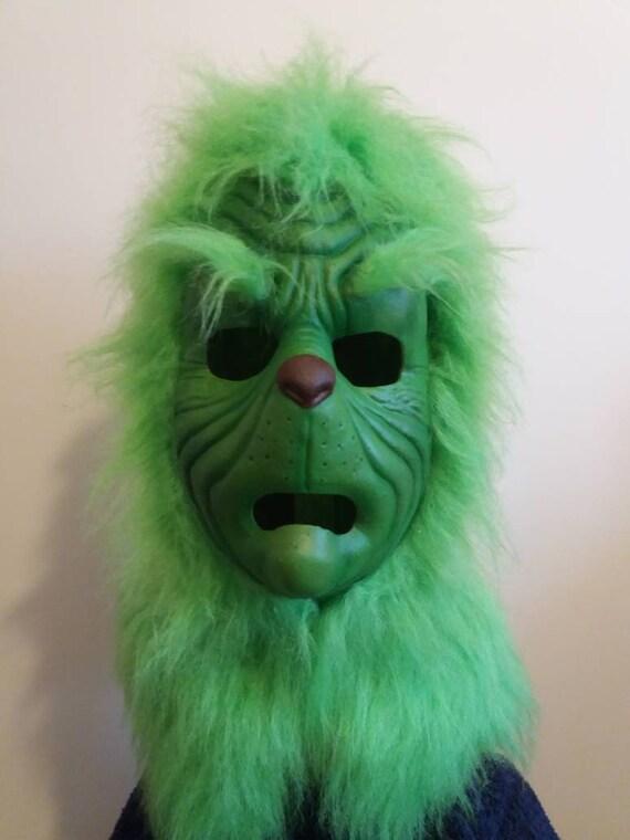 Le Grinch pleine tête masque en latex