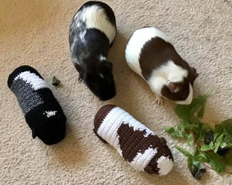 Guinea Pig Toy, Crocheted Guinea Pig, Personalised Guinea Pig Toy