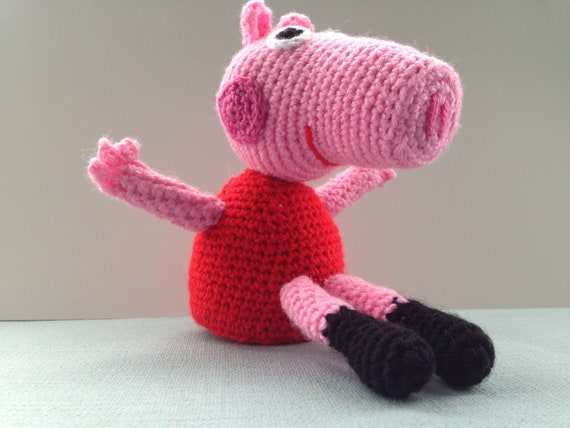 Peppa Pig free crochet pattern | Crochet pig, Crochet patterns ... | 428x570