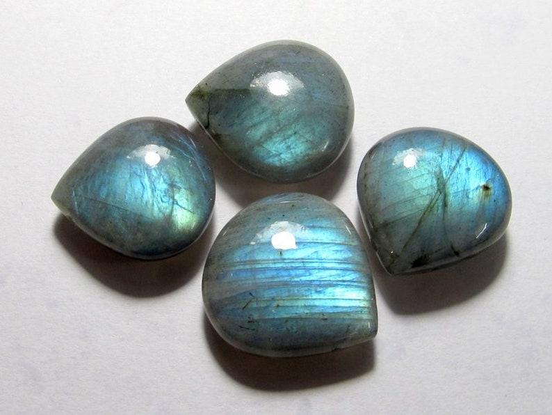 High Quality heart shape Briolette  18x19-17x17 jewelry making gemstone LABRADORITE  GEMSTONE