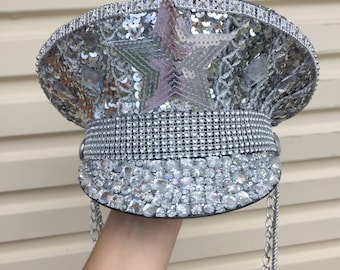 SOLD OUT- Space Sergeant- Festival captain hat