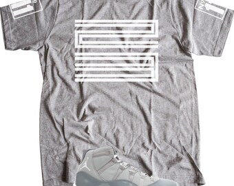801750ce036 New t-shirt to match Air Jordan 11 Retro LOW