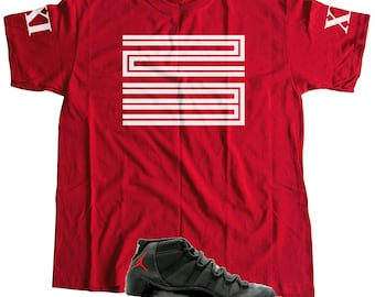 fdf681d86fe11 New T-Shirt to Match Nike Air Jordan Retro 11 (S-3XL)
