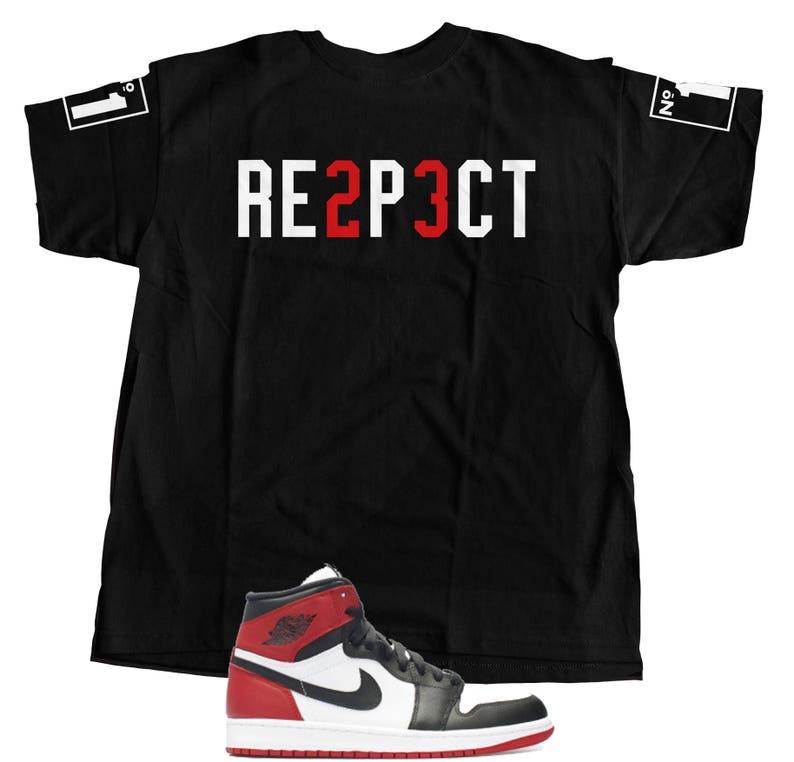 65a0c994c1db6a New t-shirt to match Nike Air Jordan Retro 1 s high OG