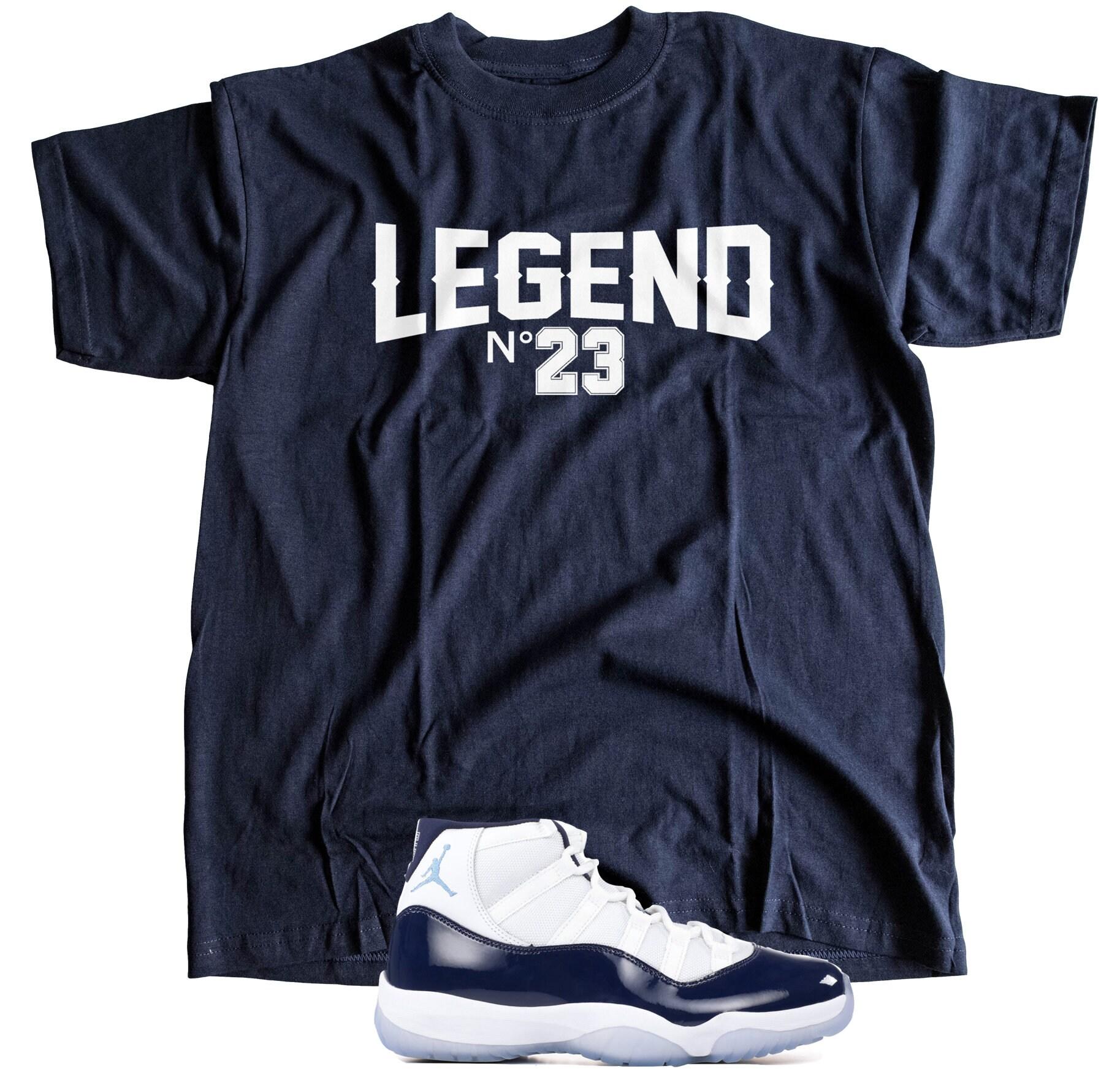 a6b2ff5291a4d9 New T-Shirt to Match Nike Air Jordan Retro 11 WIN LIKE
