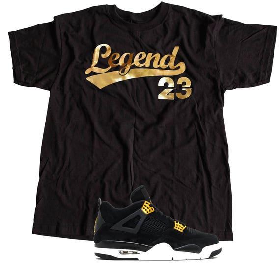 52ed9572cfbede Shirt to match Nike Air Jordan Retro 4 Royalty Sneakers S-3XL