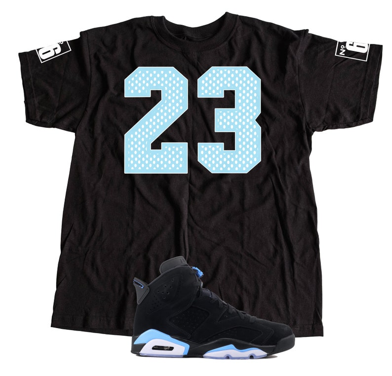 newest 5ff16 257df New T-Shirt to Match Nike Air Jordan Retro 6