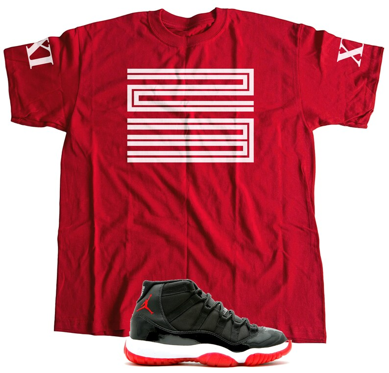huge selection of e3a5c 52145 New T-Shirt to Match Nike Air Jordan Retro 11 S-3XL   Etsy
