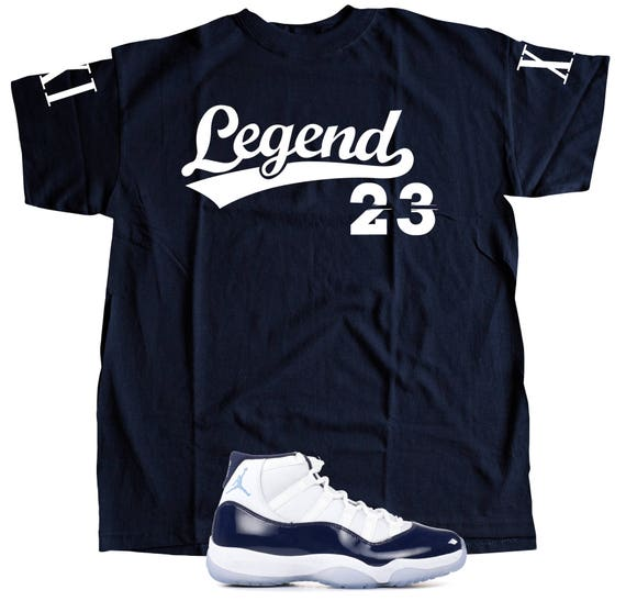 outlet store 042f3 a679d New T-Shirt to Match Nike Air Jordan Retro 11 WIN LIKE Etsy   rBVaEFne6nSAFcMmAALzzUjEDhE373.jpg  Athletic Shoes ...