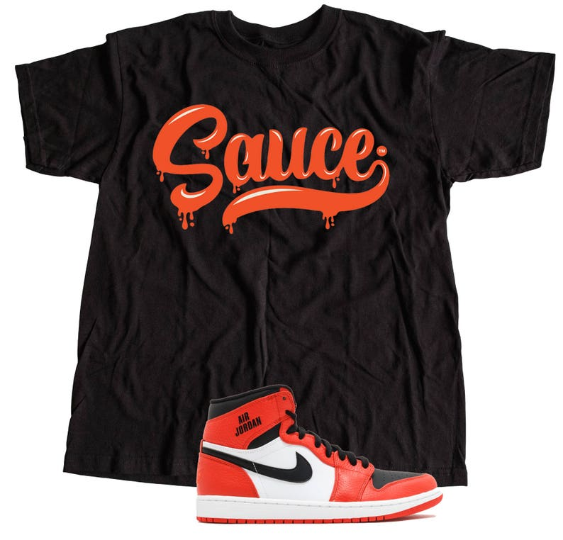 1f8faf8b68fa32 New T-Shirt to Match Nike Air Jordan Retro 1 s OG s