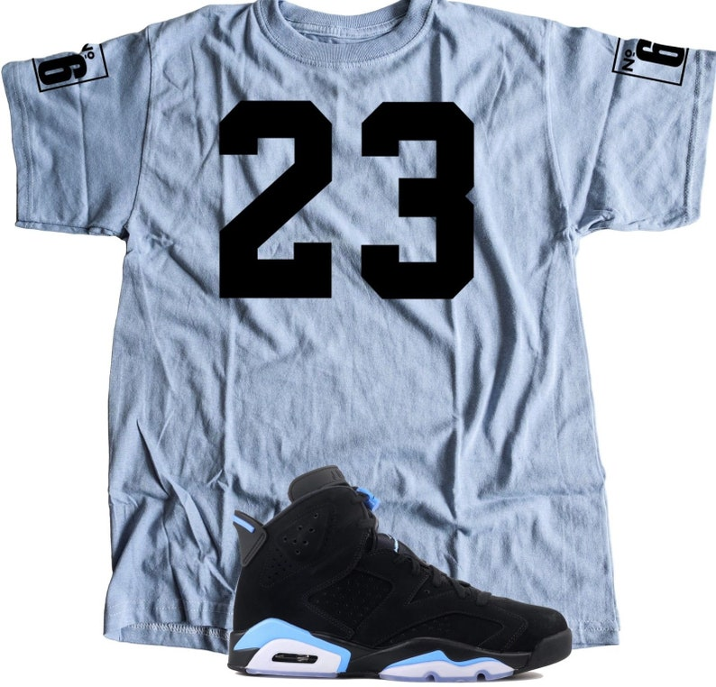 new style 84f1e 34b5a New T-Shirt to Match Nike Air JORDAN 6 RETRO UNC   Etsy