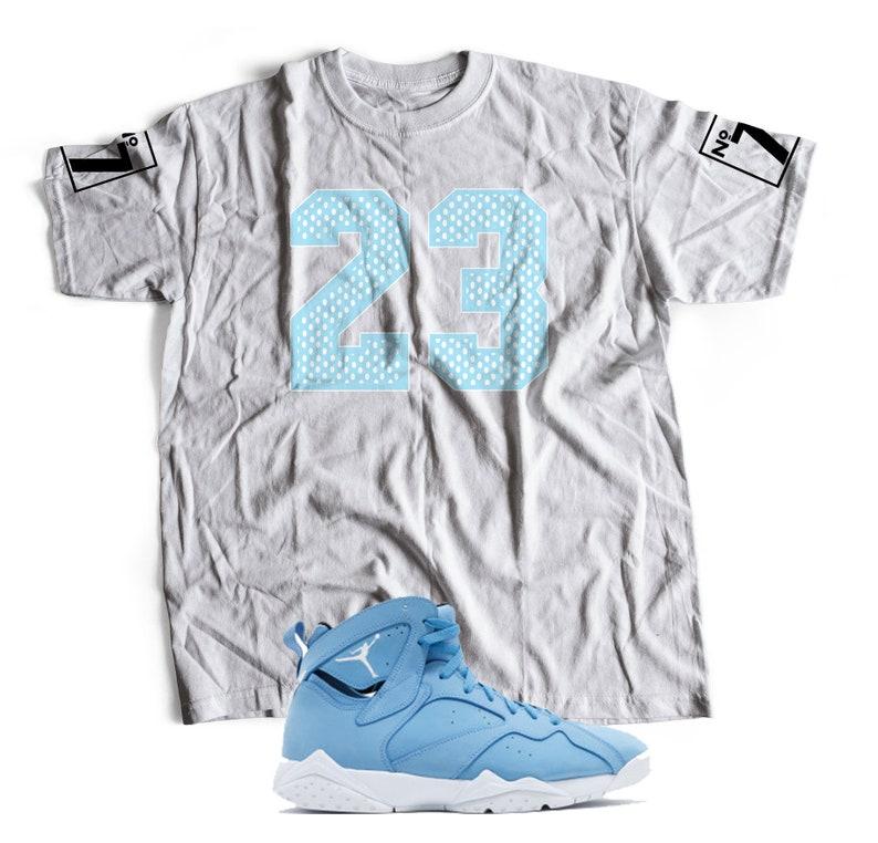 2472850cfc3 New T-Shirt to Match Nike Air Jordan 7 RETRO | Etsy