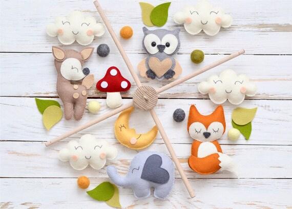 Felt Magnet Toys Filz Magnet Filztiere Handgemachter Filz