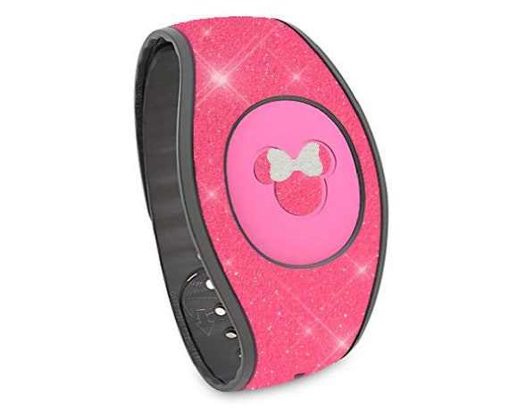 Waterproof and scratch resistant neon yellow glitter ideal for magicbands.magicband skins decals stickers magic band decal skin sticker