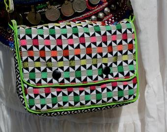 Small geometric pattern Crossbody bag