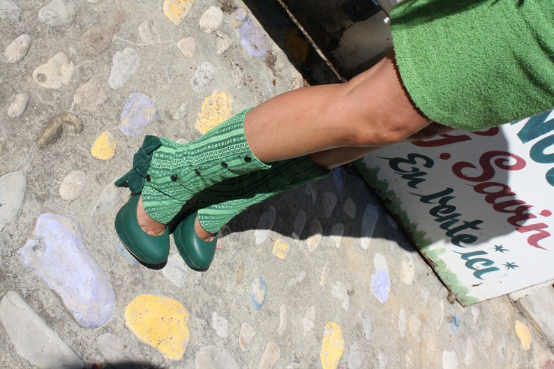 Summer leggings lace snap