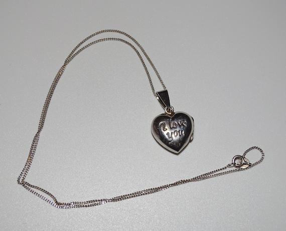 /'I/'m sold/' Links of London sterling 925 /& enamel Silver puffed Love heart Gift