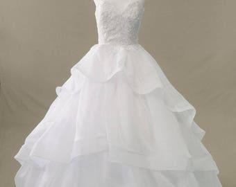 Wedding Dress/ Winter Formal Dress/Cotillion/ Prom
