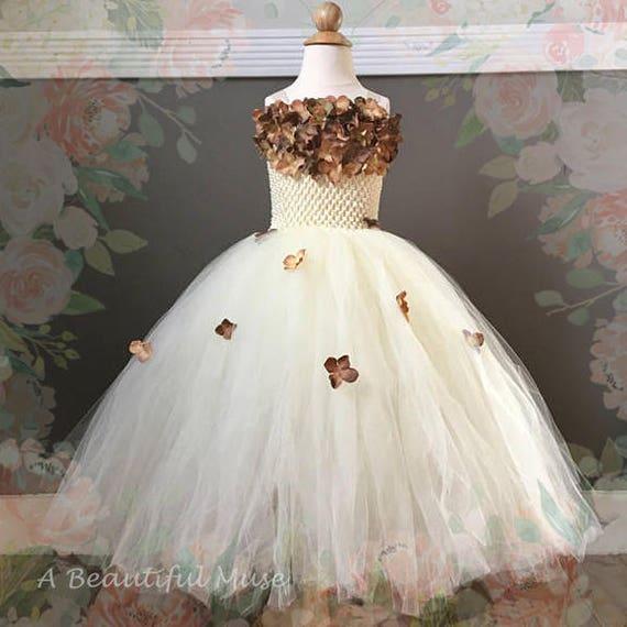 WEDDING FLOWER GIRL DRESS HANDMADE TODDLER JUNIOR SATIN FASHION DANCING RECITAL