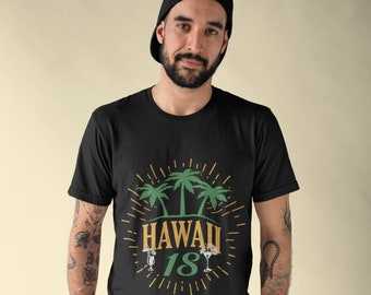 Hawaii 2018 Family Vacation Matching Group Short-Sleeve Shirt For Men and Women