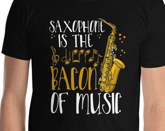 New York Style Sax Logo Jazz T Shirt Yoga T Shirt Gift For Jazz Lovers. I Love Sax Razorback Workout Tank Top