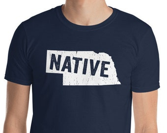 Nebraska Native Corn Husking NE Love T-Shirt