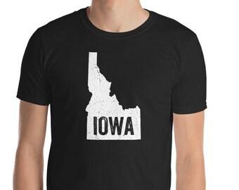 Idaho Iowa Funny Geography Mix up T-Shirt
