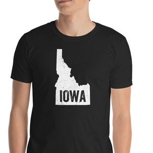ab3dd93766c Popular items for funny iowa shirt. (88 Results). More colors. Idaho Iowa  Funny Geography Mix up T-Shirt