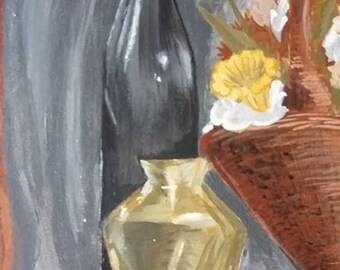 Painting: Dinner Stilllife