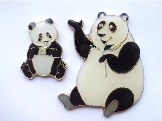 Giant Panda Pin Badge