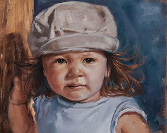 CUSTOM Portraits with oil on canvas.