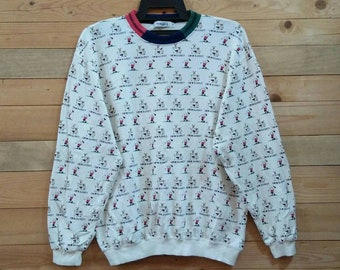 COCO RABBIT sweatshirt jumper pullover spellout nice design large size