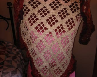 Window pane shawl