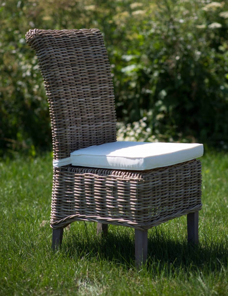 Indoor Wicker Dining Chair