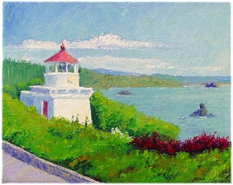 Lighthouse Series Greeting Cards from Original Paintings