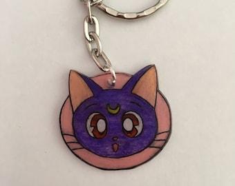 Sailor Moon Luna keychain
