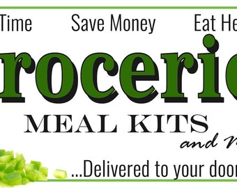 Thrive Life Groceries and Meal Kits Banner 2.5 by 6 DESIGN