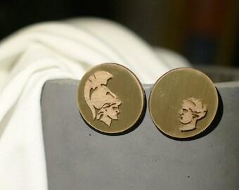 Goddess earrings.